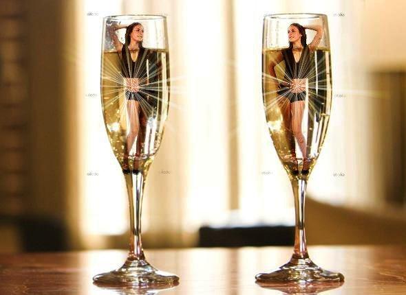 Mes creations archive at cr aphotos - Une coupe de champagne ...